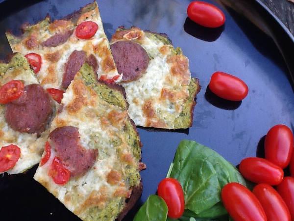 Pizza med pulp