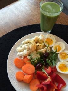 Morgenmadstallerken med greenie