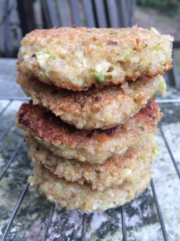 Quinoa bøffer med feta