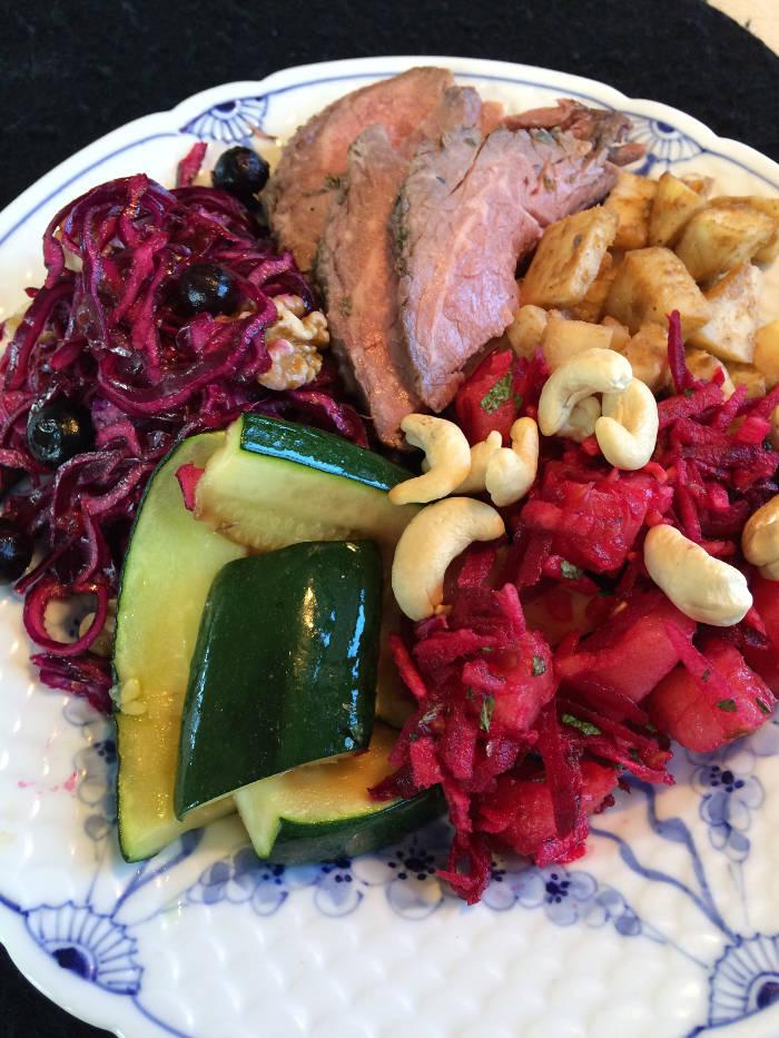 Salater fra køl