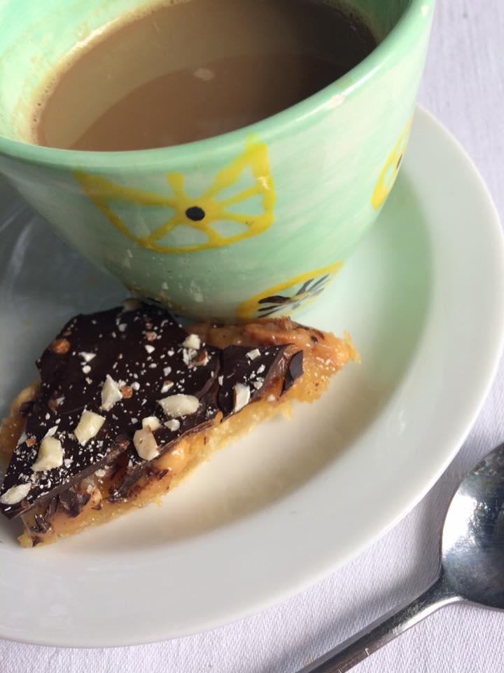 hyggekage og kaffe