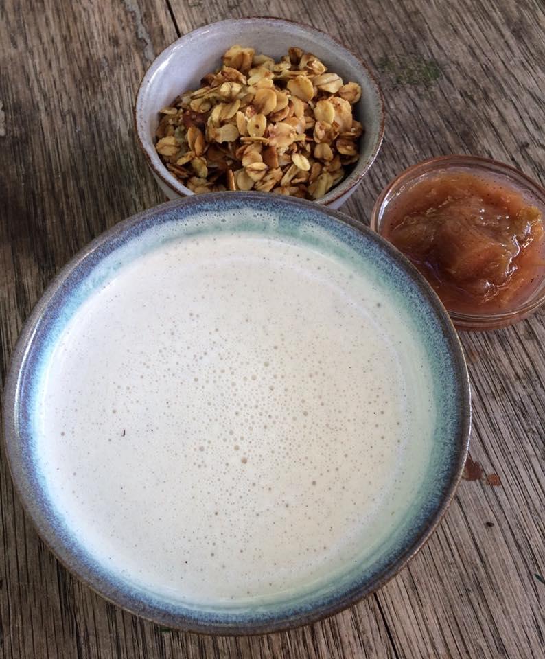 Koldskål på cashewnødder